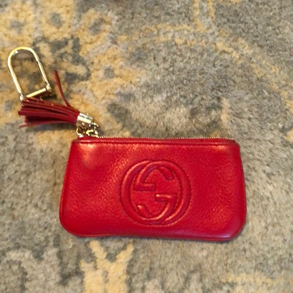 Gucci Accessories - Gucci Soho Leather Key Case with box   cards 3139bf09d